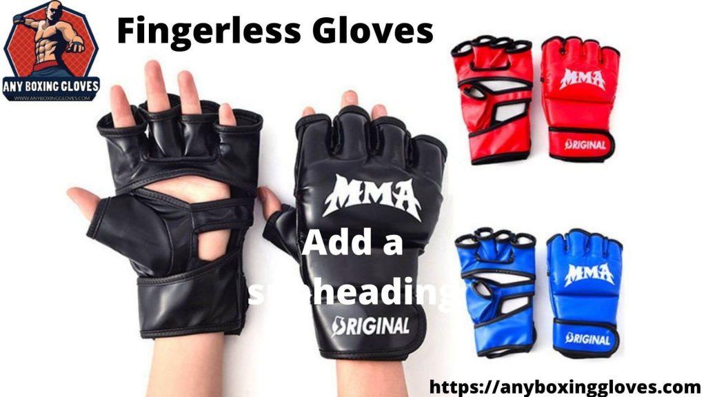 Boxing Vs MMA gloves